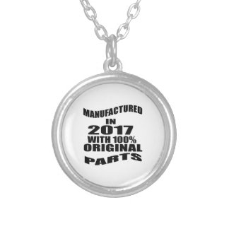 Manufactured  In 2017 With 100 % Original Parts Silver Plated Necklace