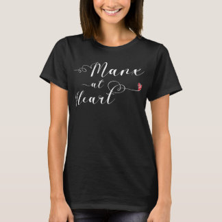 Manx At Heart Tee Shirt, Isle of Man