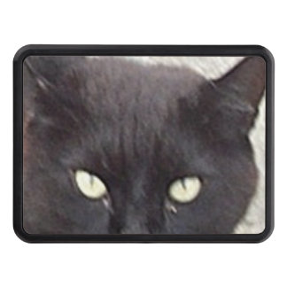 manx black trailer hitch cover