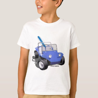 Manx Blue with Surfboard T-Shirt
