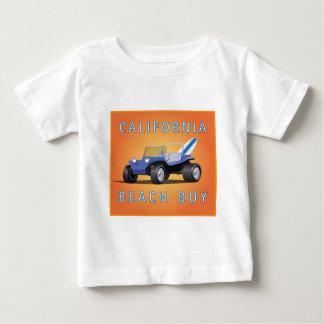 Manx Cal Beach Boy Baby T-Shirt