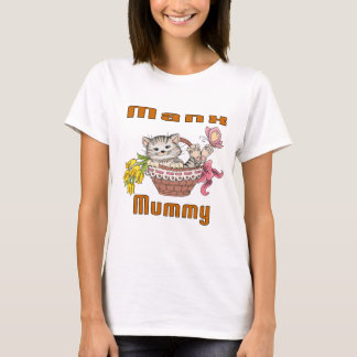 Manx Cat Mom T-Shirt