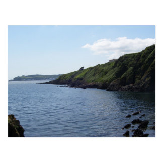 Manx coast postcard