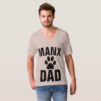 MANX DAD CAT T-shirts Bobtail