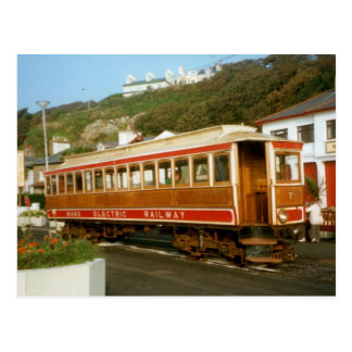 Manx Electric Railway, Isle of Man Postcard