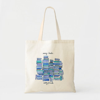 Many Books, Many Friends Tote