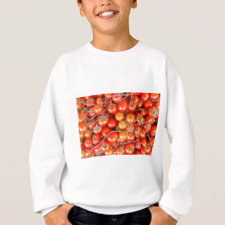 Many bunches of red vine tomatoes sweatshirt