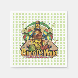 Many Choices Cinco de Mayo Party Paper Napkins