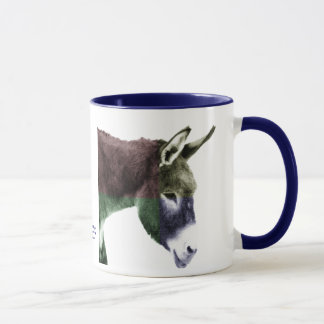 Many Colors Burro Donkey Mug