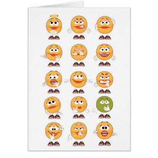 Many Emotions Card