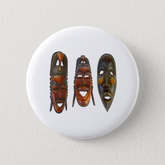 Many Faces 2 Inch Round Button