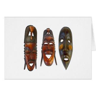 Many Faces Card
