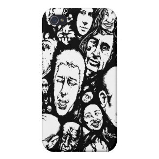 Many Faces Case For iPhone 4