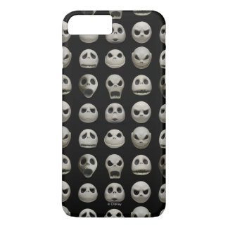 Many Faces of Jack Skellington - Pattern iPhone 8 Plus/7 Plus Case