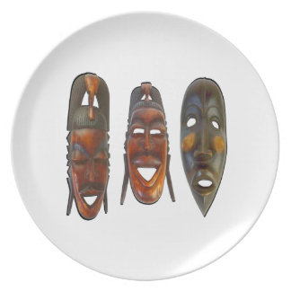 Many Faces Plate