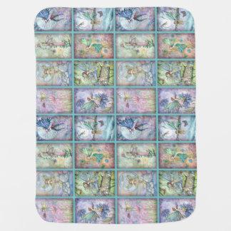 Many Fairies Magical Blanket Receiving Blanket