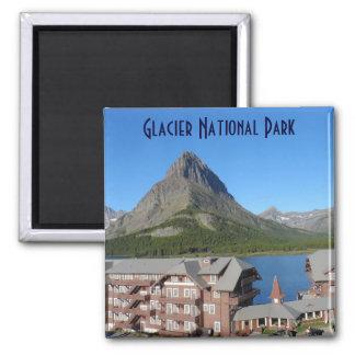 Many Glacier Hotel- Glacier National Park Magnet