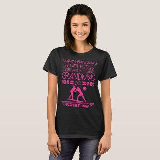 Many Grandmas Watch TV Best Do Wrestling Tshirt