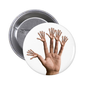 Many Hands 2 Inch Round Button