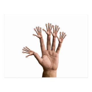 Many Hands Postcard