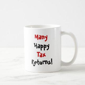 Many Happy Tax Returns Coffee Mug