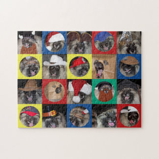 Many Hats of Broadway Keeshond puzzle
