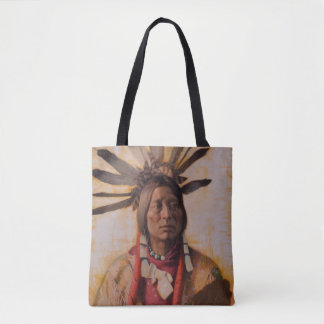 Many Horns Tote Bag