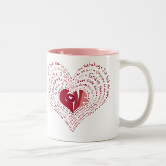 Many Languages of Love Mug