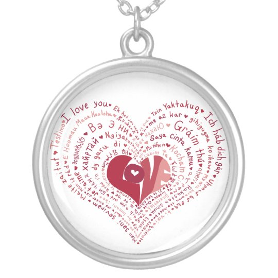 Many Languages of Love Necklace