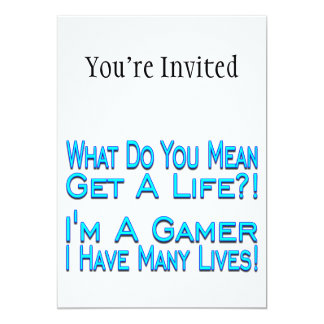 Many Lives Gamer Card