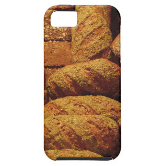 Many mixed breads and rolls background iPhone 5 cover