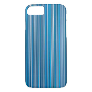 Many multi colored stripes into the blue… iPhone 8/7 case