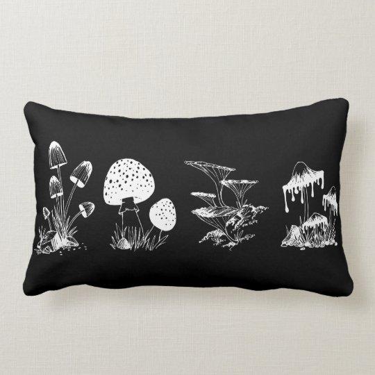 Many Mushrooms pillow
