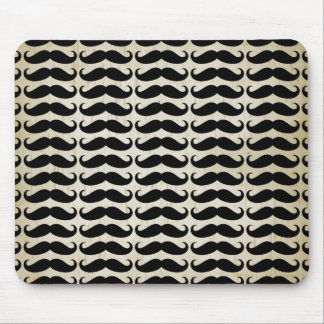 Many Mustaches Pattern Mouse Pad
