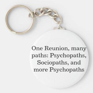 Many Paths Funny Family Reunion Keychain