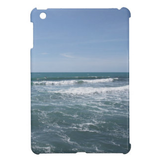 Many people surfing on surfboards in the sea iPad mini case