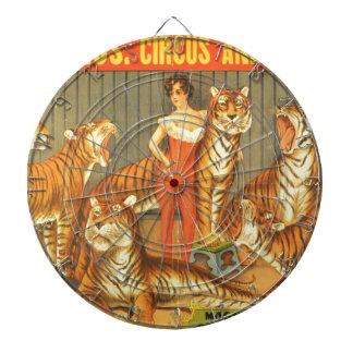 Many Pet Tigers Dartboard