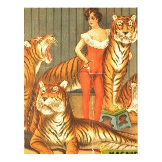 Many Pet Tigers Letterhead