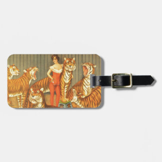 Many Pet Tigers Luggage Tag