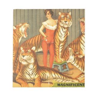 Many Pet Tigers Notepad