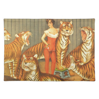 Many Pet Tigers Placemat