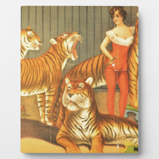 Many Pet Tigers Plaque