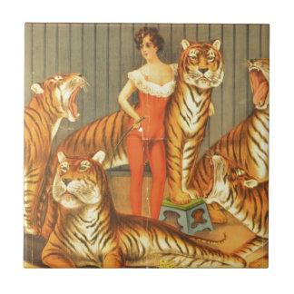 Many Pet Tigers Tile