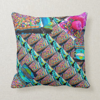 Many smartie lorries slant both sides same pillow