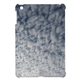 Many soft clouds against blue sky background cover for the iPad mini