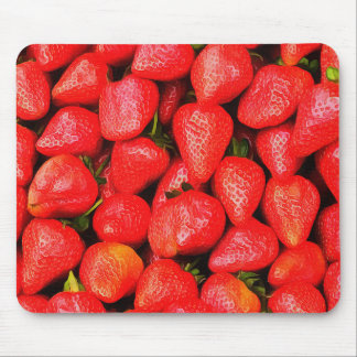 Many Strawberries! Mouse Pad