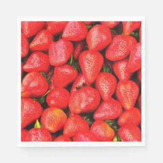 Many Strawberries! Napkin