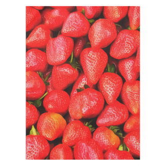 Many Strawberries! Tablecloth