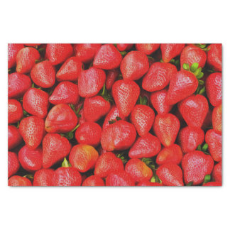 Many Strawberries! Tissue Paper