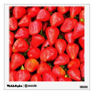 Many Strawberries! Wall Sticker